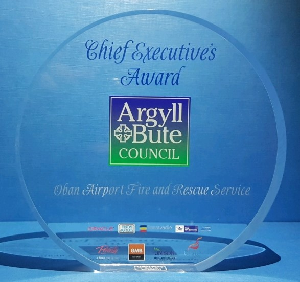 Argyll and Bute Council Chief Executives Award