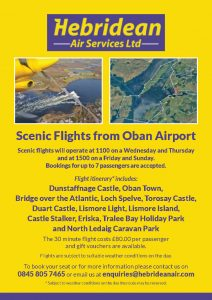 Hebridean - Scenic flights